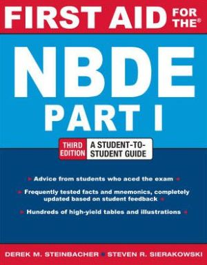 First Aid for The NBDE Part 1, 3e