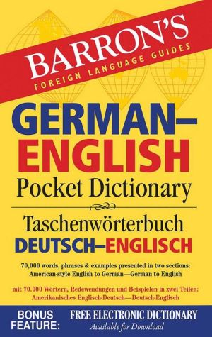 Barron's German-English Pocket Dictionary, 2e
