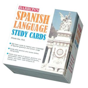 Barron's Spanish Language Study Cards