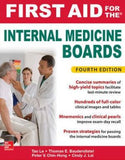 First Aid For The Internal Medicine Boards 4e**