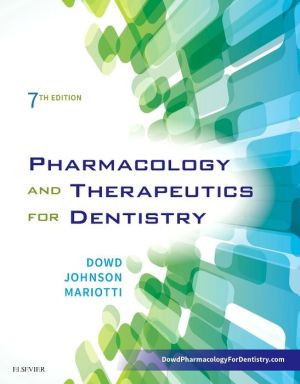 Pharmacology and Therapeutics for Dentistry, 7th Edition