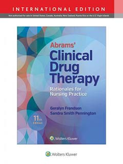 Abrams' Clinical Drug Therapy, IE, 11e