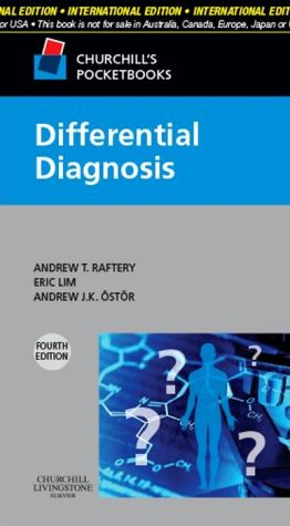 Churchill's Pocketbook of Differential Diagnosis, IE, 4e**