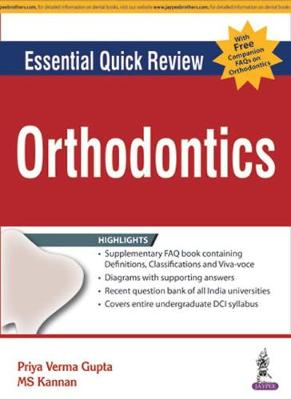 Essential Quick Review Series - Orthodontics with Free Booklet