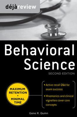 DEJA Review: Behavioral Science, 2e