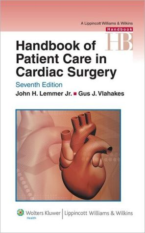 Handbook of Patient Care in Cardiac Surgery 7e