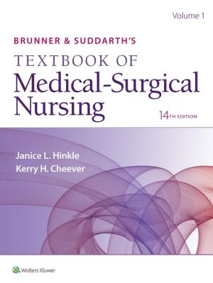 Brunner & Suddarth's Textbook of Medical-Surgical Nursing International Edition, 14e
