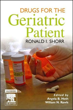 Drugs for the Geriatric Patient, Text with BONUS PocketConsult Handheld Software **