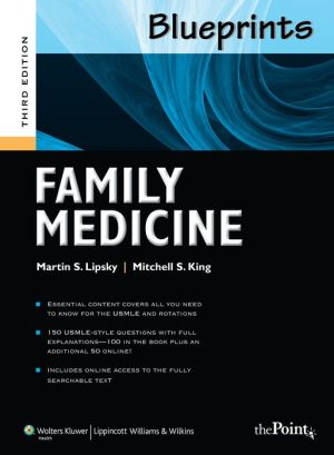 Blueprints Family Medicine, 3e **
