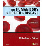 The Human Body in Health & Disease - Hardcover, 5e **