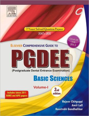 Elsevier Comprehensive Guide for PGDEE (Basic Sciences, Vol- I), 2/e