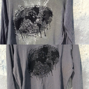Thumbprint of the world T-shirt