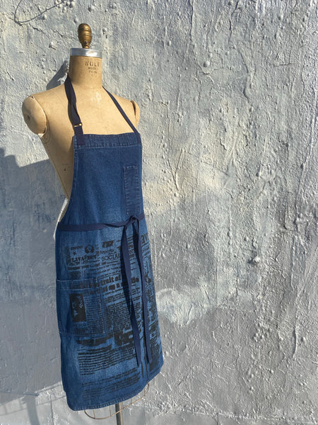 Sale  it's more than an Apron...Denim Apron