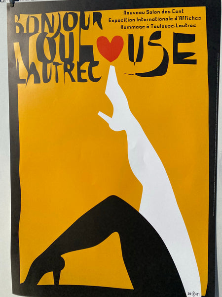 Nouveau Salon des cent  homage to Toulouse-Lautrec by max Kisman