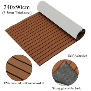 Self-Adhesive Marine Boat Synthetic Flooring