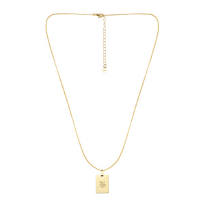 Avenue Letter Necklace 'B'
