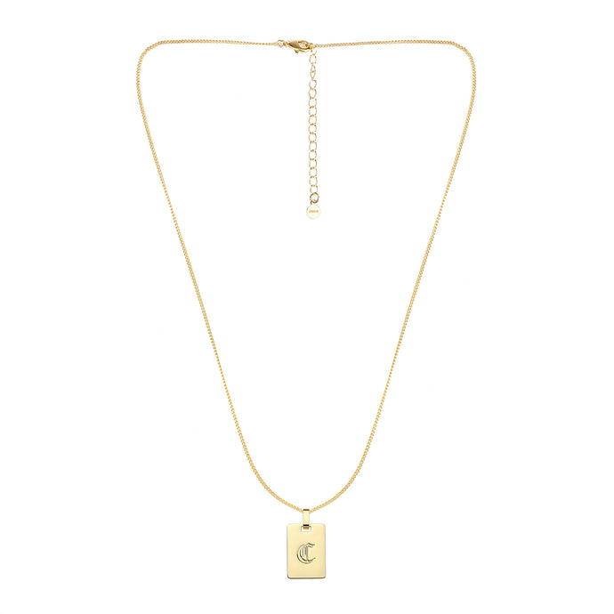 Avenue Letter Necklaces 'C'