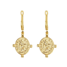 Load image into Gallery viewer, Florentina Coin Earring