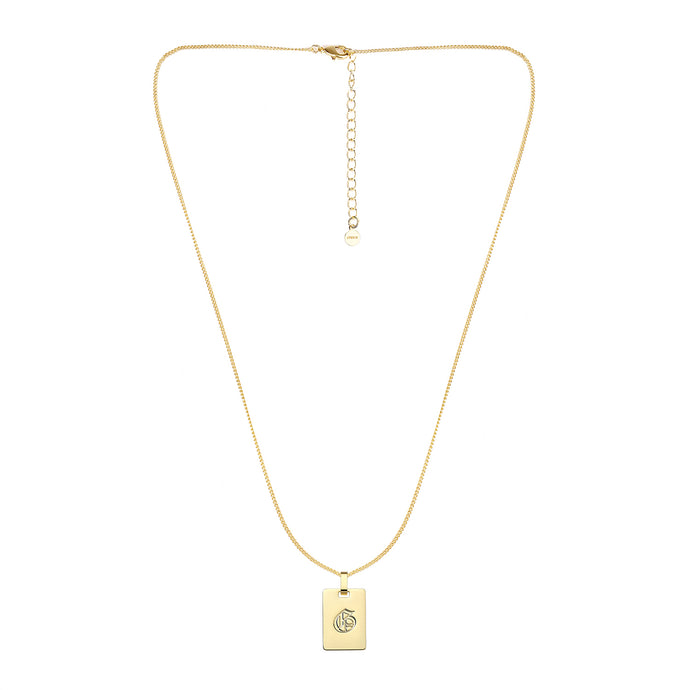 Avenue Letter Necklace 'G'