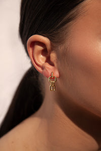 Chain Reaction Earring