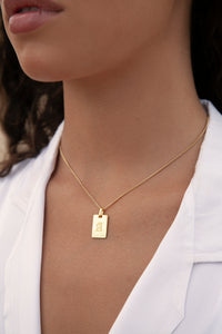 Avenue Letter Necklace 'A'