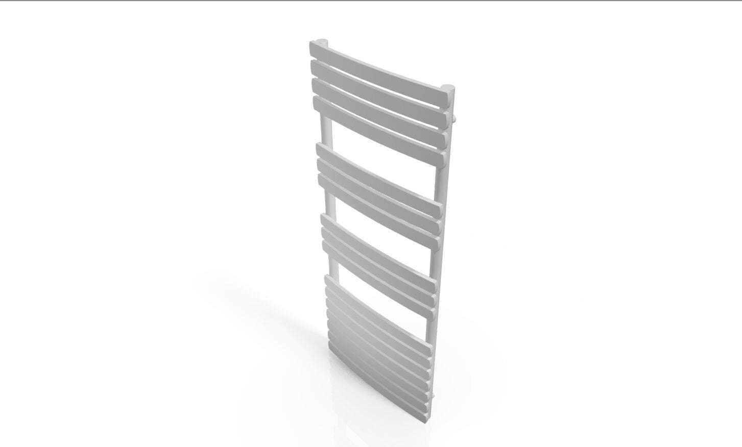 Cassellie Orchid Designer Heated Towel Rail - 1200mm x 500mm - White