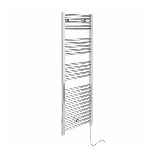 Essential ELECTRIC Chrome Towel Warmer, 920mm High X480mm Wide