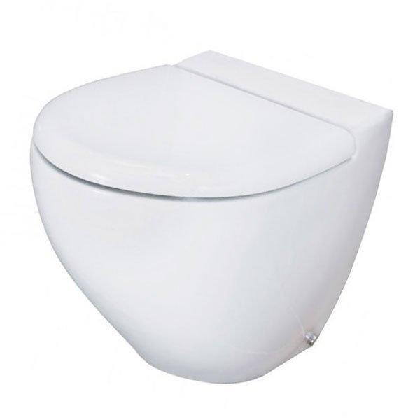 RAK Reserva Back to Wall Toilet WC 555mm Projection - Soft Close Seat