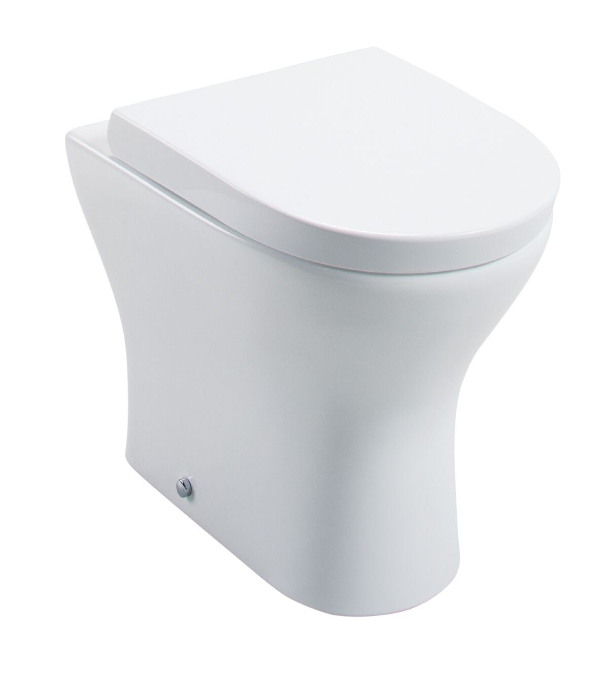 Cassellie Spek Back to Wall Toilet - Quick Release Wrapover Seat