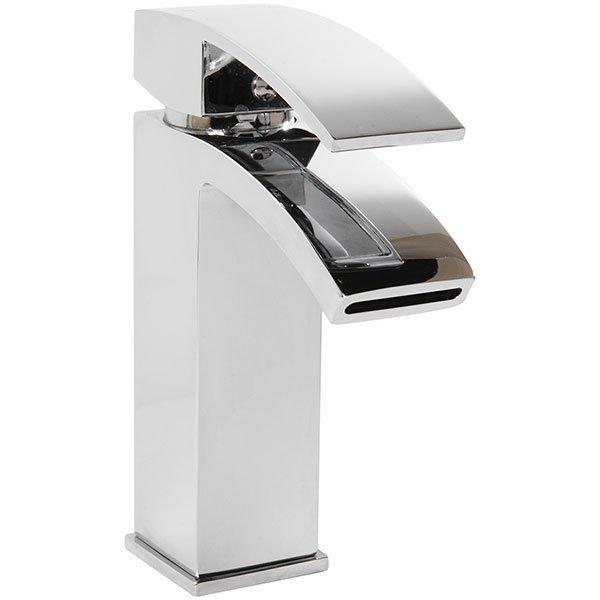 Cassellie Peak Mono Basin Mixer Tap with Click-Clack Waste - Chrome