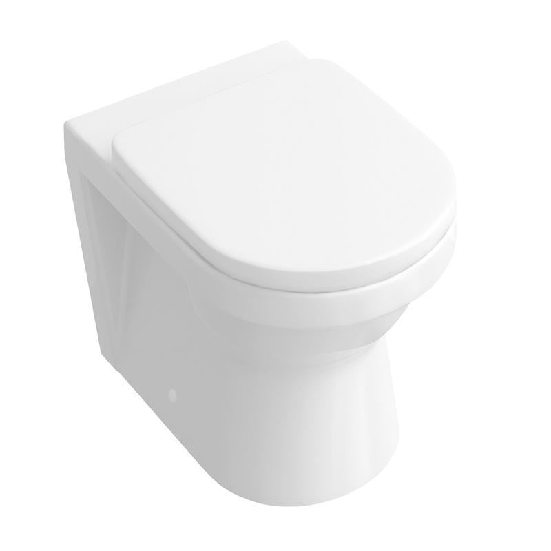 Abacus  Vessini Opaz 2 Back to Wall WC Pan