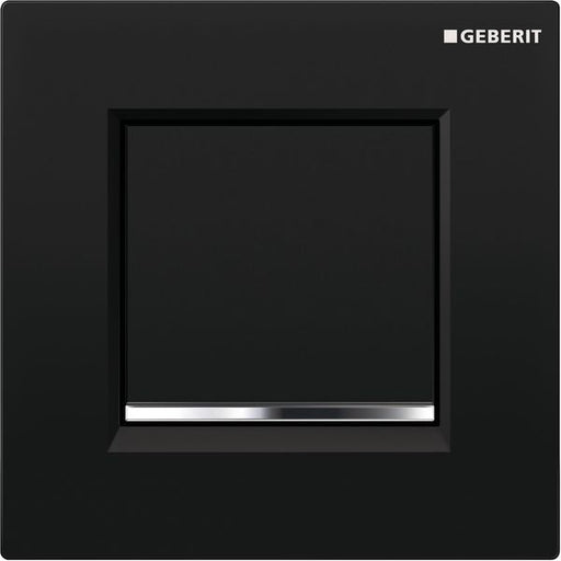 Geberit Sigma30 Urinal Flush Pneumatic Black/Bright Chrome/Black