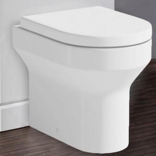 D Shaped Back to Wall Pan with D Shaped Quick Release Seat