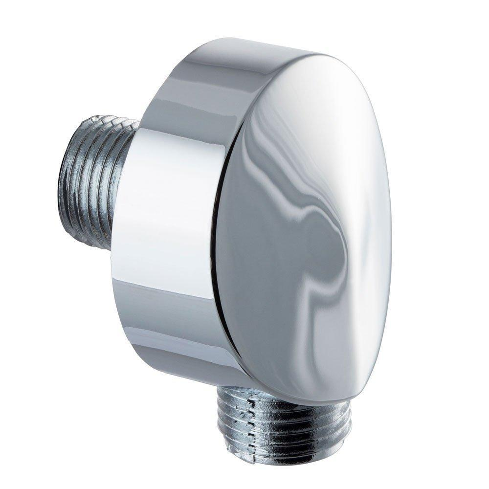 Cassellie Reno Round Shower Elbow - Chrome