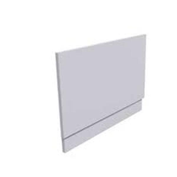 Cassellie MDF Adjustable Bath End Panel - 800mm Wide - White