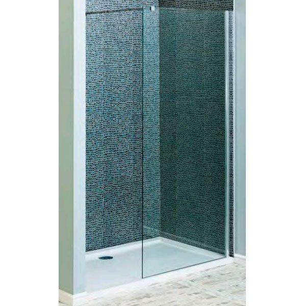 Cassellie Marna Easy Clean Wet Room Glass Single Panel Only 1400mm Wide - 8mm Glass