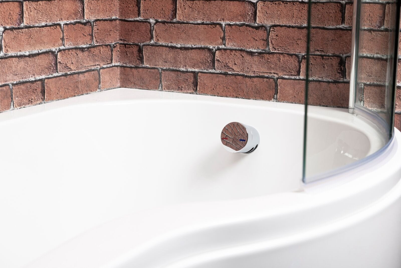 Cassellie Bath Filler and Overflow with Click Clack Waste - Chrome