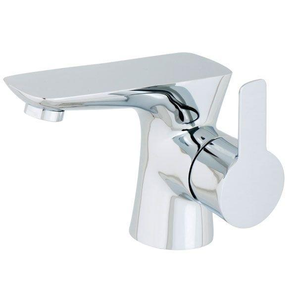 Cassellie Pedras Mono Basin Mixer Tap with Click-Clack Waste - Chrome
