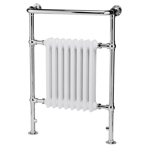 CLEARANCE Hudson Reed - Chrome & White Finchley Radiator - 965 x 673mm - LDR001