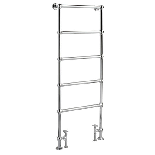 CLEARANCE Hudson Reed Countess Floor Mounted Heated Towel Rail 1550mm H x 600mm W Chrome
