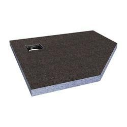 Abacus Elements Pentagon Shower Tray EMST-15-1510 - EMST-15-1510