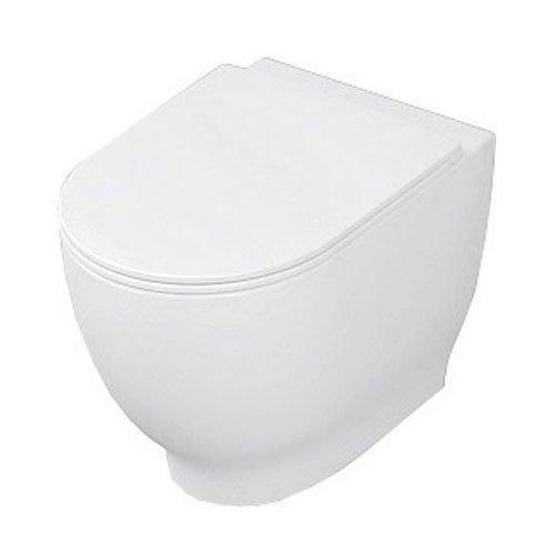 RAK Harmony Back to Wall Toilet 560mm Projection - Soft Close Seat