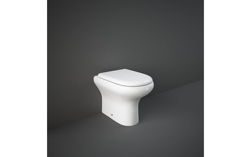RAK Compact Back to Wall Toilet 370mm Width with Soft Close Seat
