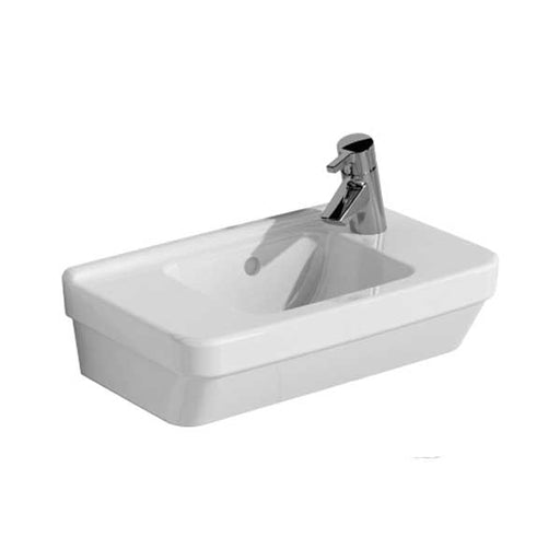 Vitra S50 Compact Basin Right Handed 500mm Wide 1 Tap Hole