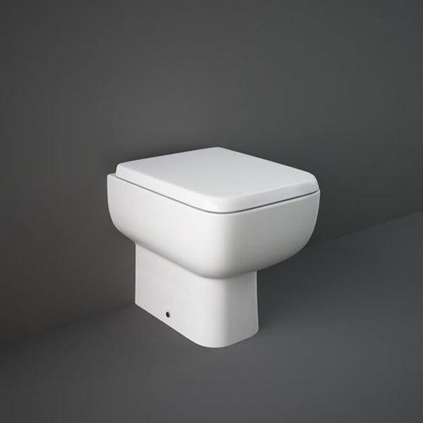 RAK Series 600 Back to Wall Pan with Soft Close Seat