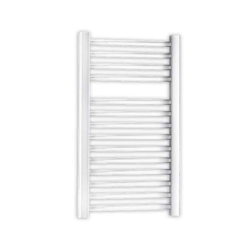 Essential Straight Ladder Towel Rail, 690mm High x 450mm Wide, White