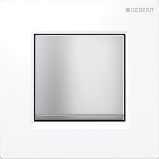 Geberit Sigma30 Urinal Flush Pneumatic White/Matt/Matt Chrome