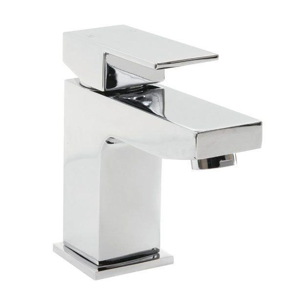Cassellie Form Mono Basin Mixer Tap Deck Mounted with Click Clack Waste - Chrome