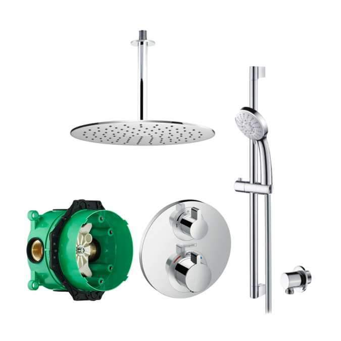 Abacus Emotion Plus Thermostatic Shower Kit EP06C