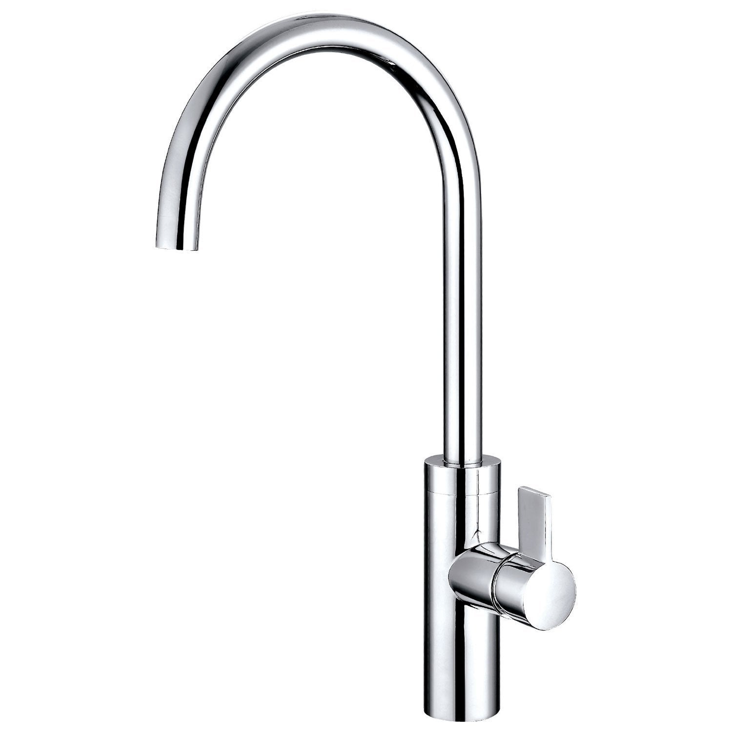 Cassellie Single Lever Mono Kitchen Sink Mixer Tap - Chrome